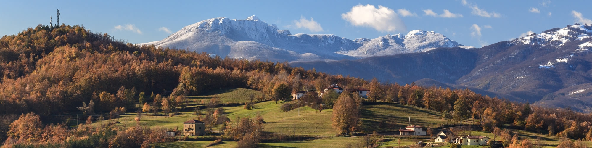 The Apennines between Tuscany and Emilia Romagna